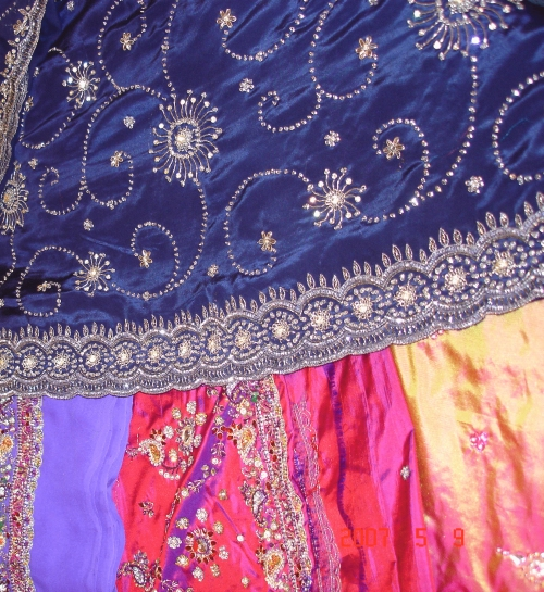 Saree embroidery arees
