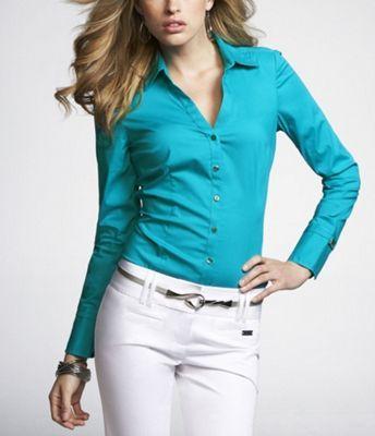 essential stretch logo cuff shirt bali clothing accessories shirts