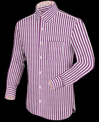 Check design shirts for men
