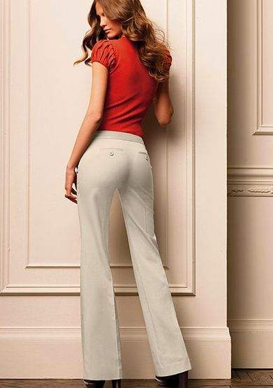 kate fit bootcut pant from victorias secret