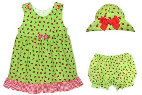 laina line ladybug dress