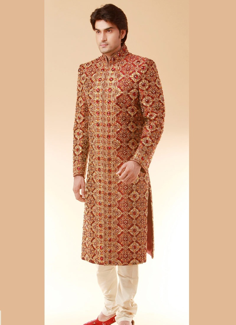 latest sherwani styles