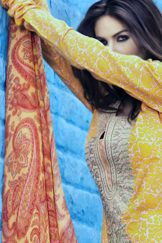 latest lawn collection 2011