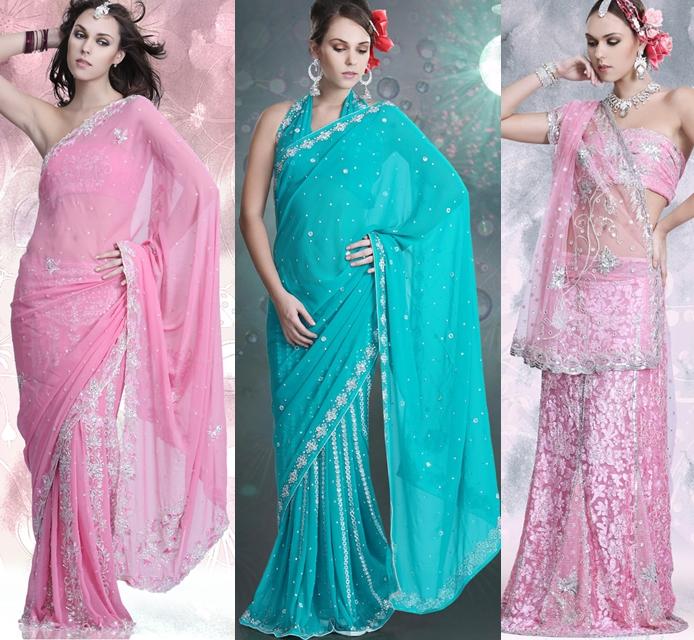 lehenga sari Collection 2012