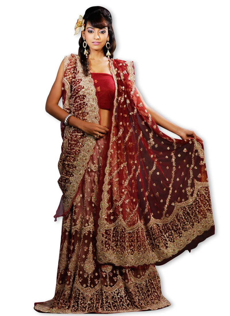 USA lehnga bridal 2012 Design
