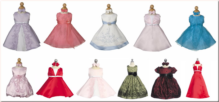 lk infant girl dresses gowns