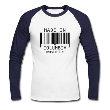 made in columbia university long sleeve shirts
