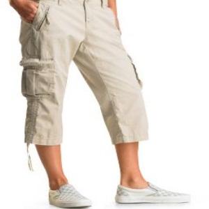 men Ruched cargo pants