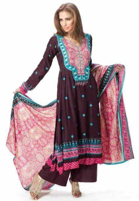 moonsoon lawn Collection 2012