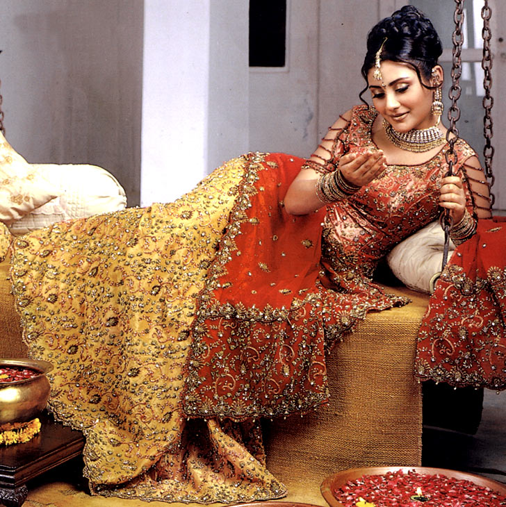 pakistani Lengha dress