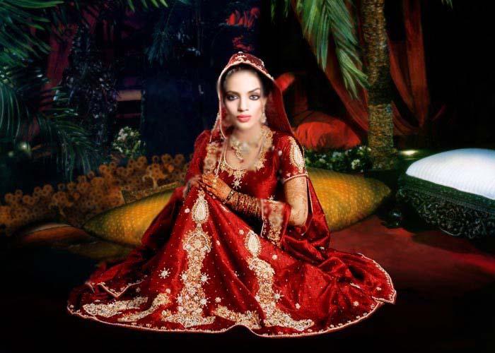 USA bridal sharara