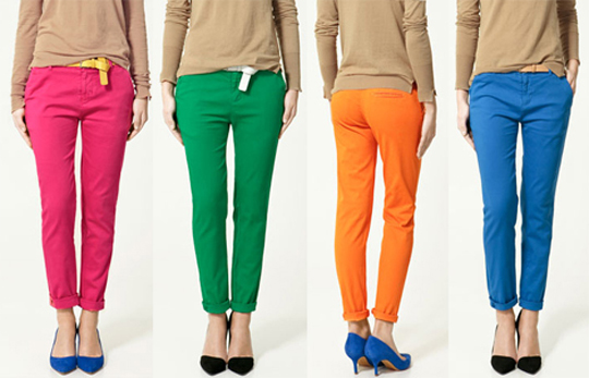 Pants Fashion Collection 2012