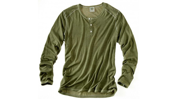 ramblers way long sleeve henley Shirt