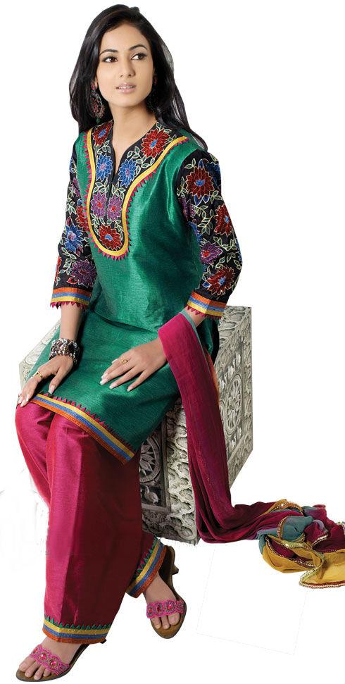 salwar kameez neck designs 2011
