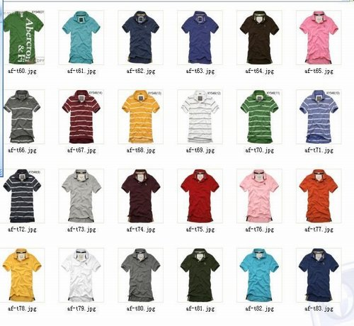 Abercrombie Fitch t-shirts for men and women