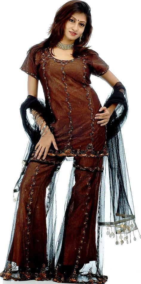 sharara dresses new designs