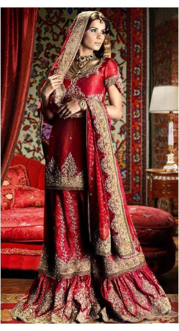 Bridal sharara Collection 2012