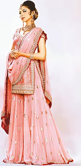 sharrara wedding dresses