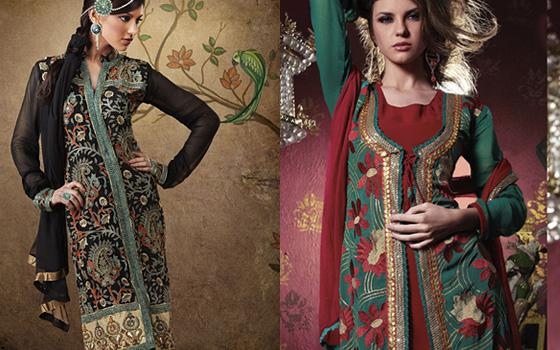 sherwani pattern kameez