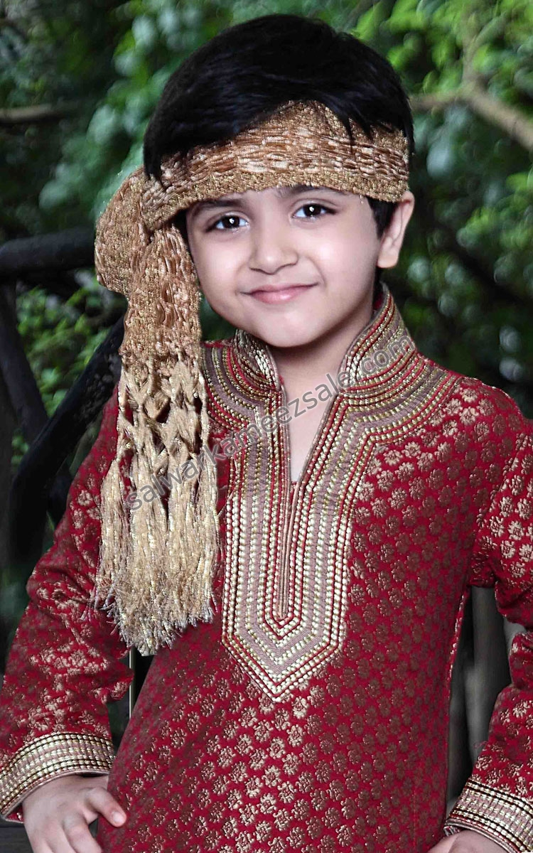 Most Expensive Sherwani Designs for Kid