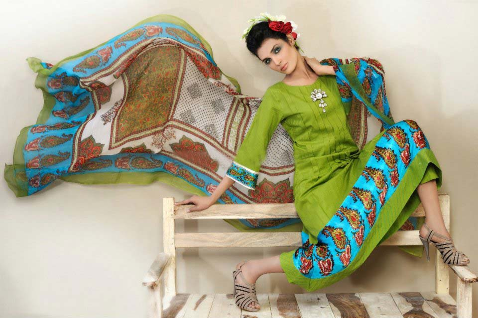 shirin hassan lawn collection 2012