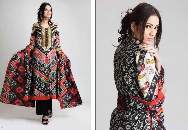 summer lawn prints by al-zohaib textile 2012