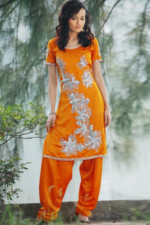 Pure silk salwar kameez 2012 salwar kameez