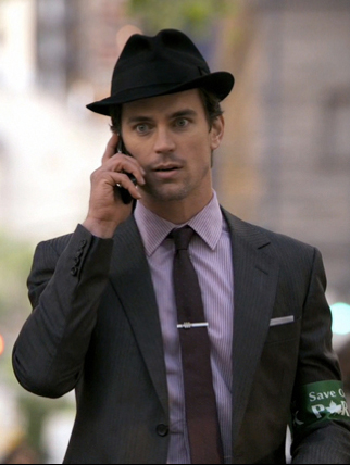 white collar style dress like neal caffrey