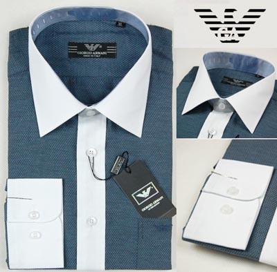 wholesale Armani Mens Long Sleeve Shirt