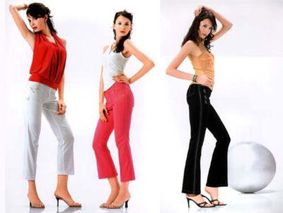 women trousers in ladies style