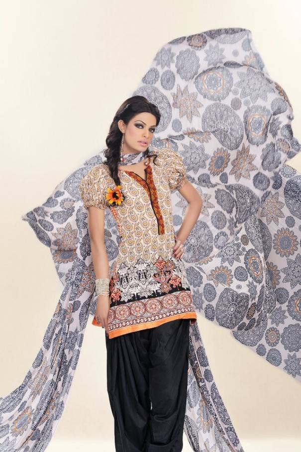 latest lawn dresses collection