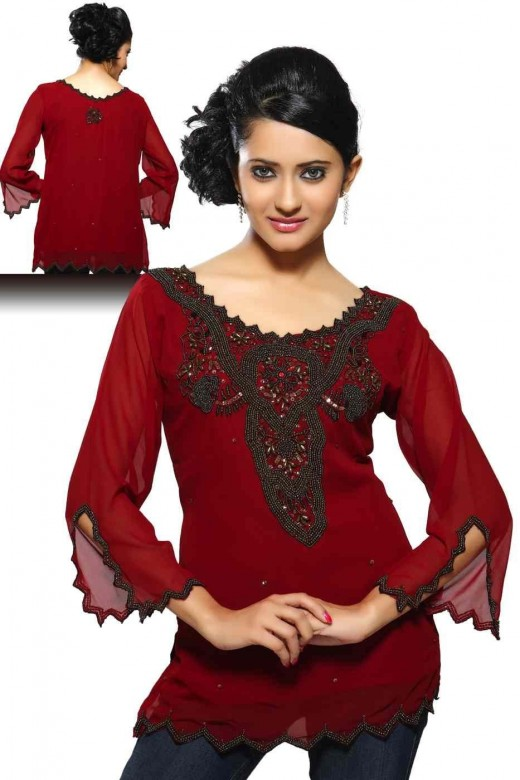 kurti designs for Winter collection