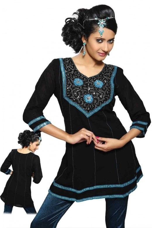 Latest kurti designs for Winter