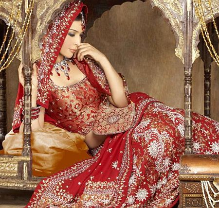 Bridal Red Wedding Lehenga