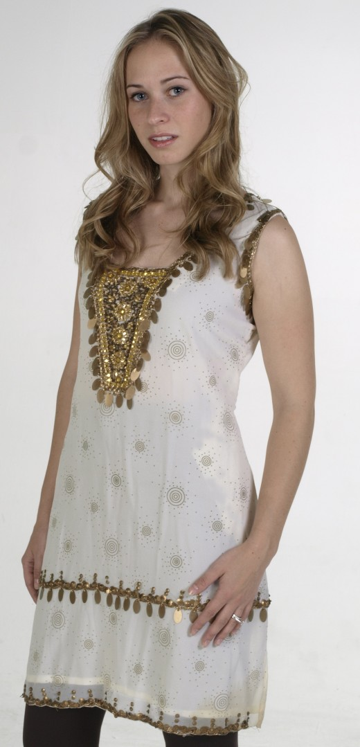 Golden Kurti Style