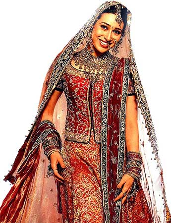 Karishma Kapoor Wedding Dress