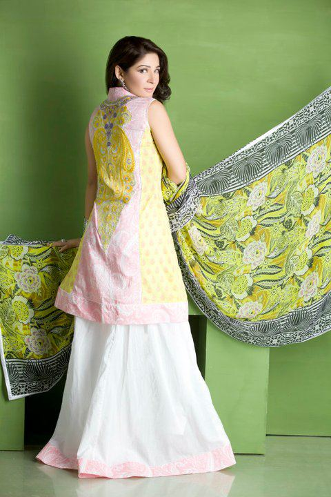 Modern Summer Lawn By Sadia Designer Collection