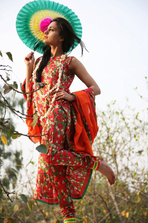 New Generation Lawn Dresses for 2011