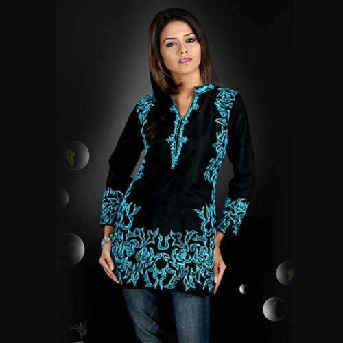 neck designs Kurti fashion