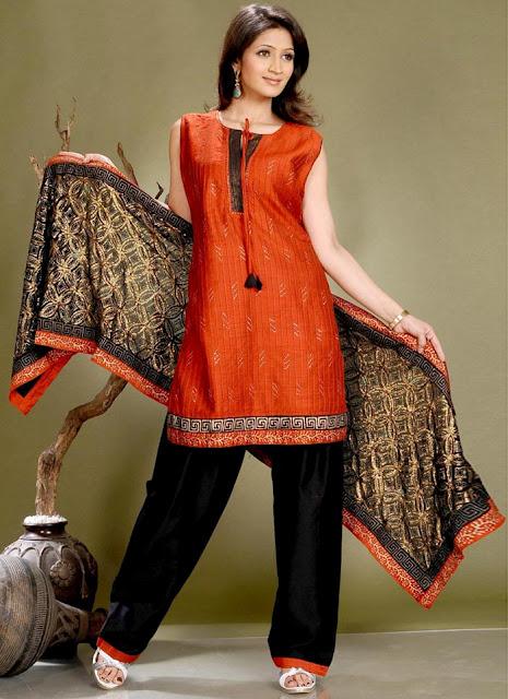 kurta salwar classy cotton 2011 design
