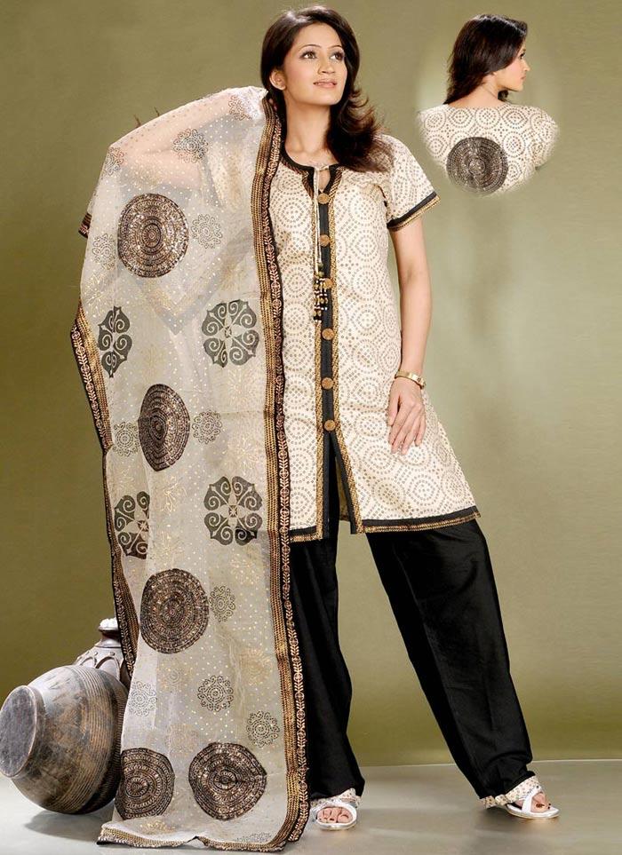 stylish kurta design 2011