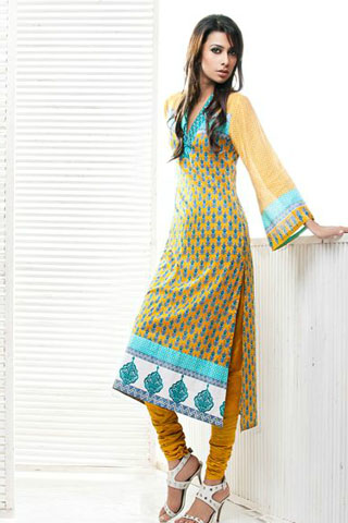 summer lawn prints collection 2012