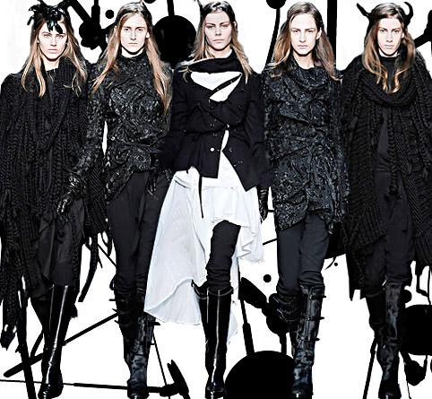 ANN DEMEULEMEESTER Fashion