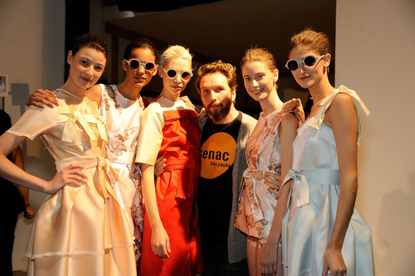 Alexandre Herchcovitch - Backstage - Spring 2012 Mercedes-Benz Fashion Week