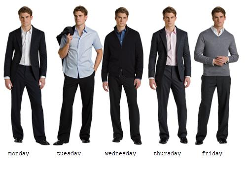 Business Casual Dress for Men