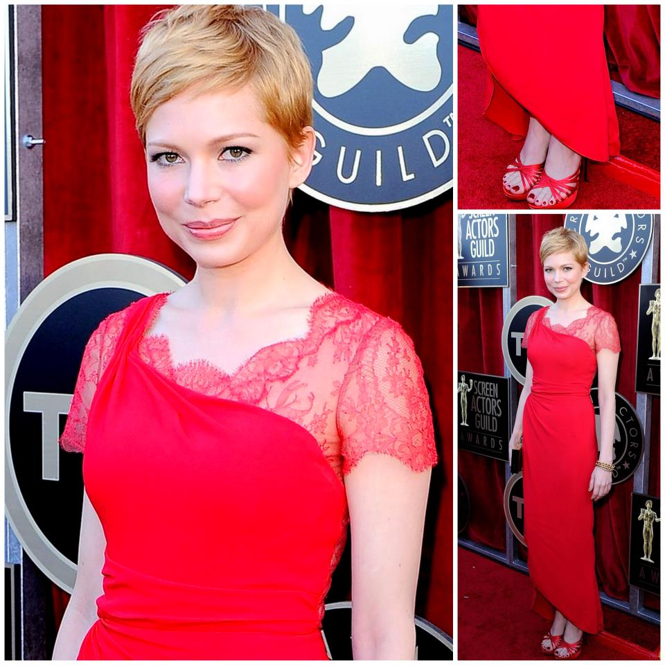 Michelle Williams Red Dress