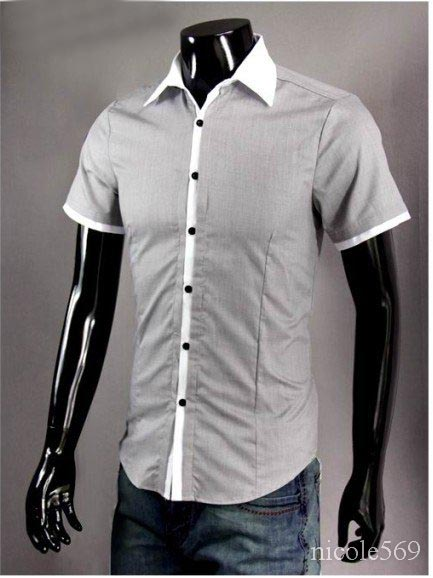 dress shirt men s casual fashion t shirts