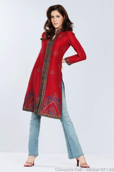 female kurta with ban and gala