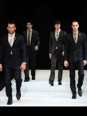 Armani suits Fashion