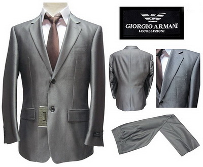 Armani suits Wedding Suite